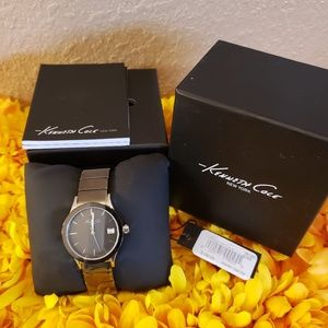 Accessories - Kenneth Cole Silver Watch